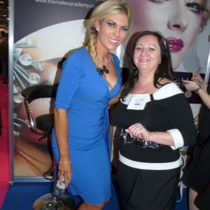 Frankie Essex and little old me!