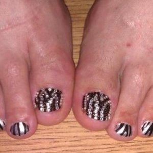 Zebra Crystal ped