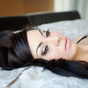 Kim Kardashian inspired make-up Hair and make-up by me