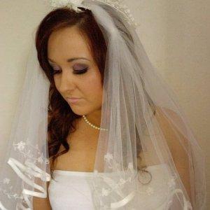 Me modelling bridal