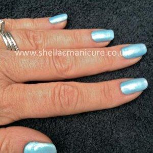 Shellac Shimmer aqua