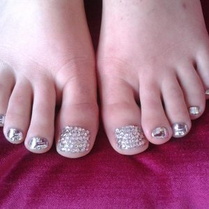 First crystals toes, I;ve still got a way to go....