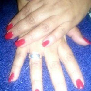 Wildfire Shellac on natural nails