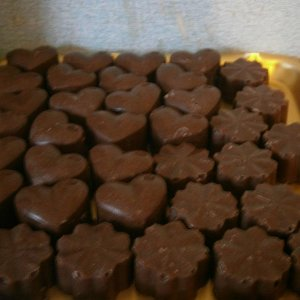 Chocolate Mint Bath Truffles