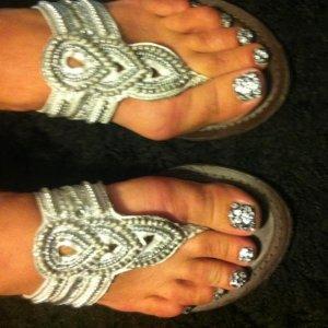 Minx silver leopad crstals