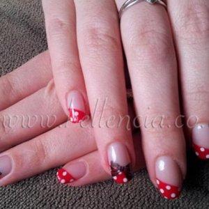 Mini Mouse Nails