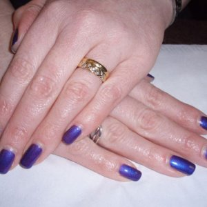 Shellac after two weeks wear and tear - Great products