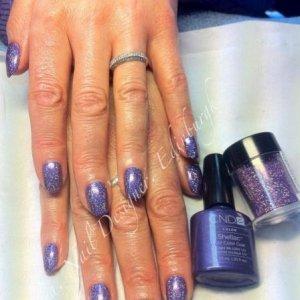 CND Shellac Rockstar manicure