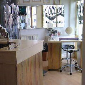 Reception and Nail Bar