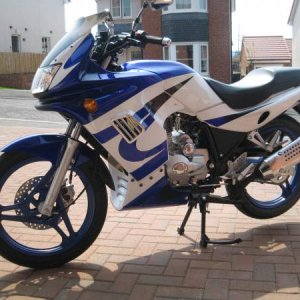 My wee 125cc Learner Bike that I can't part with