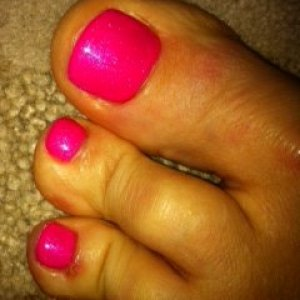 please excuse my toes, look very strange and have cut off new shoes :( x