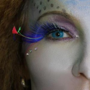 Mermaid theme shoot! Make up and Hair by me.