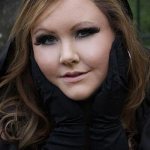 Photo shot for client, Hair and Make up by me
