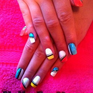Shellac with CND additives :)