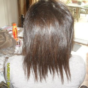 BEFORE 18 INCH PRE BONDED EXTENSIONS