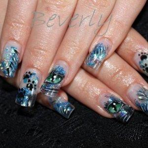 Phoenix's nails July 24, 2012