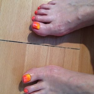 Shellac Cream Puff & Additives Red+Yellow
