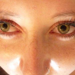 Eyelashes after