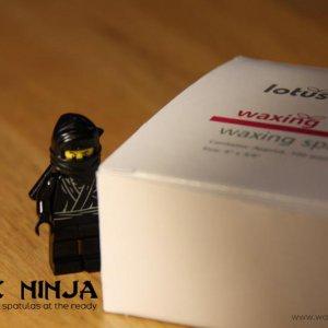 Wax Ninja always has spatulas at the ready
