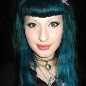 Crazy Colour Peacock Blue and Stargazer Tropical Green on prelightened hair