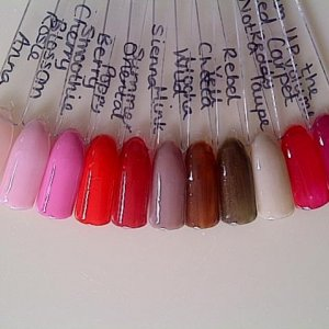My Gellux and Red Carpet colours so far :)