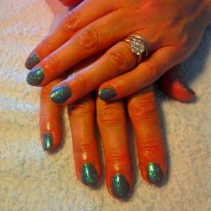 SHELLAC RUBBLE with Opal Shimmer
