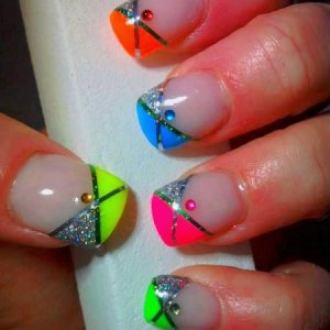 NSI Groovy Collection with Tape & Crystals