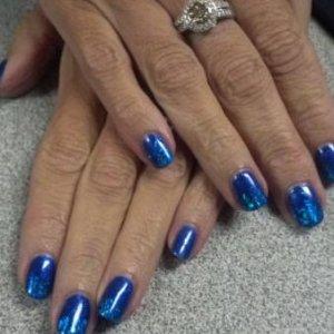 gelish blues