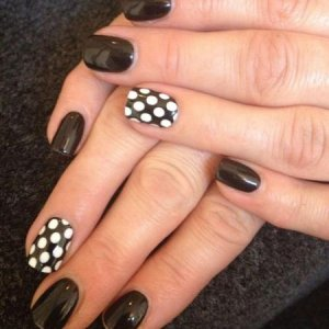 Blackpool with Minx polka dots