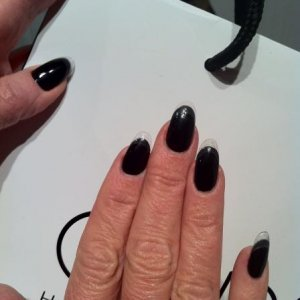 Jan Arnolds nails for Fashion Week FW 2011