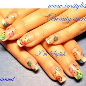 patched nails)))))