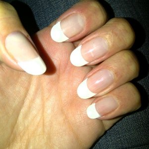 French enhancements - Gelish Hard Gel