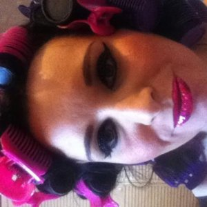 Glitzy Lips Pink Couture