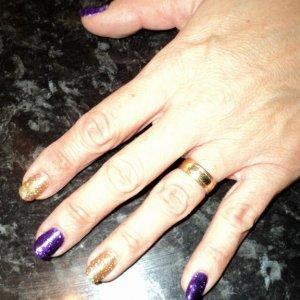 bio rockstars in alternate purple and gold