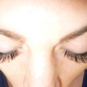 carlie's lashes after