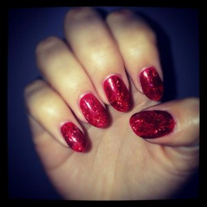 My favourite set.. they were on for 3 weeks which is aages for me :)