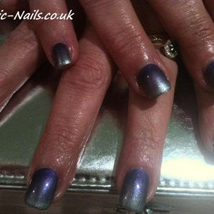 Gelish Midnight caller with additives