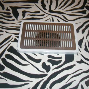 BLACK & WHITE ZEBRA PRINT KIDNEY TABLE WITH EXTRACTION