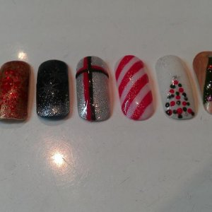 Christmas Nails - Shellac
