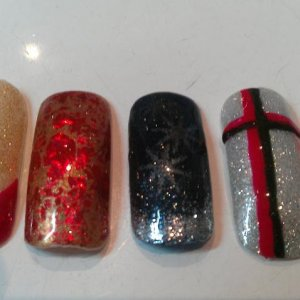 Christmas Nails 2 - Shellac