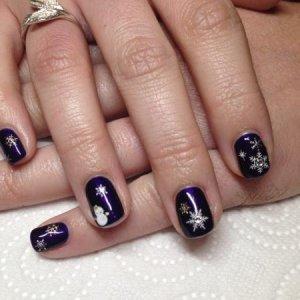 ACG and Christmas nail art