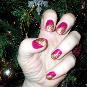 Shellac Ruby Ritz and Tinsel Toast