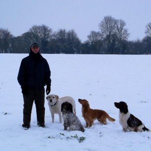 Hubby and the gang