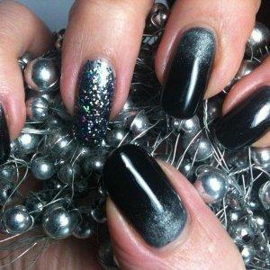 Black Shadow with titanium pearl 2
