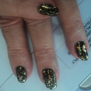 BL with shellac and foils