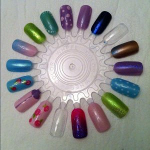 A little play with the latest Shellac and additives-not all are topcoated yet though!