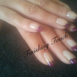 purple tip shellac