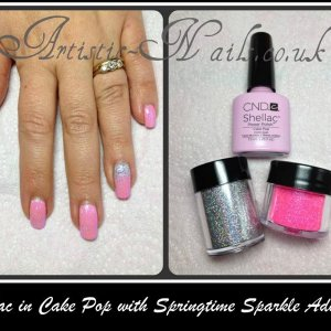 Shellac cake pop additives and irresistible glitter