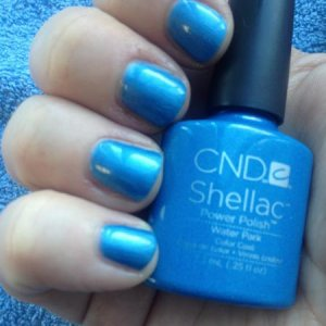 CND Shellac in Water Park