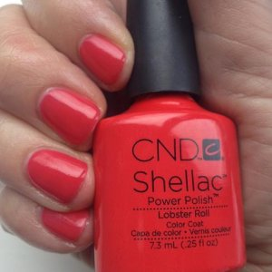 CND Shellac in Lobster Roll